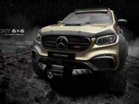 шестиколесный Mercedes