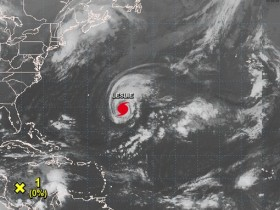 Ураган «Лесли»