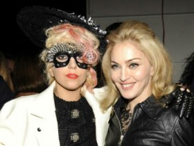 Леди Гага и Мадонна