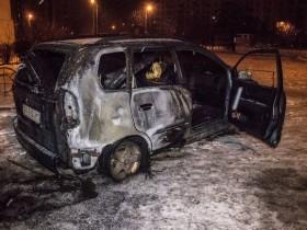 авто сгорело