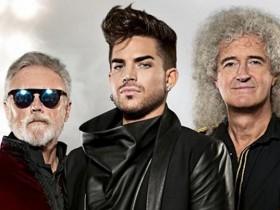 Queen и музыкант Адам Ламберт