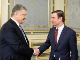 Петр Порошенко и Дэвид Гейл
