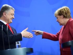порошенко - Меркель
