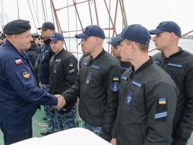 парусник ВМС Польши