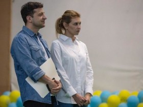 Зеленские Владимир и Елена