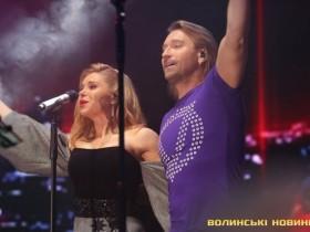 олег Винник с женой Таисией