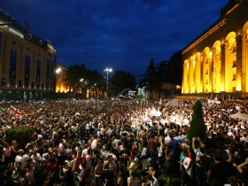 Протестное шествие