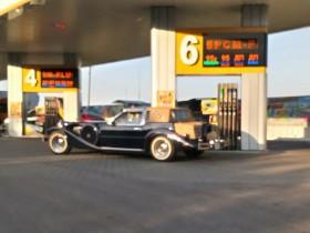 ретроавтомобиль из Флориды
