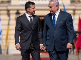 зеленский, Нетаньяху
