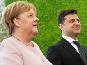 Зеленский Меркель