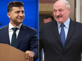 Зеленский Лукашенко