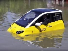 плавающий электромобиль