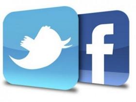 Facebook и Twitter