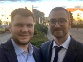 Дмитрий Романюк и Криклий