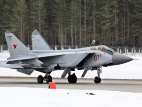 Истребитель МиГ-31К
