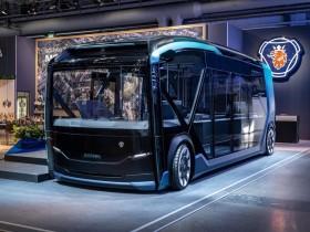 электрогибрид автобуса