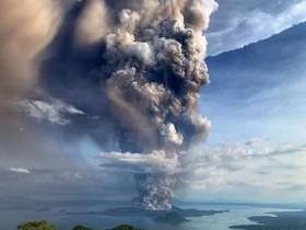 вулкан Тааль на Філіппінах