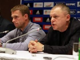 Сергей Ребров и Игорь Суркис
