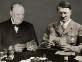 Черчилль, Гитлер