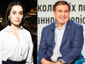 Тина Канделаки,Михаил Саакашвили