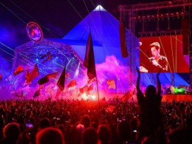 британский Glastonbury
