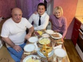 родители Зеленского