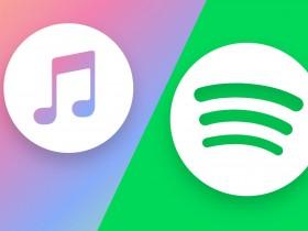 Apple и Spotify