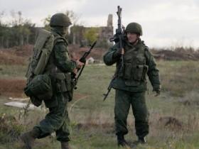 Боевики гибридной армии РФ