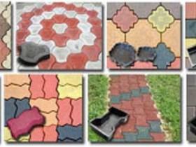 Формы для тротуарных плиток