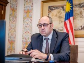 заместитель министра иностранных дел Украины Дмитрий Сеник