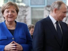 Меркель,Путин