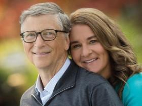 Билл Гейтс и его супруга Мелинда Гейтс