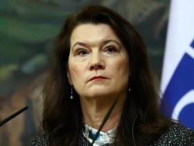 министр иностранных дел Королевства Швеция Анн Линде