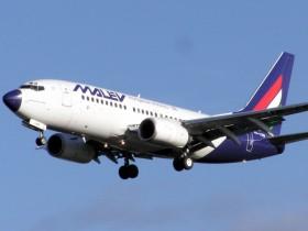 malev, самолет, боинг 737