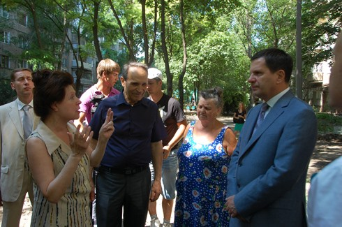 В Одессе починят дворы
