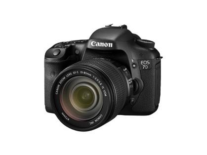 Canon дополняет особые функции в EOS 7D