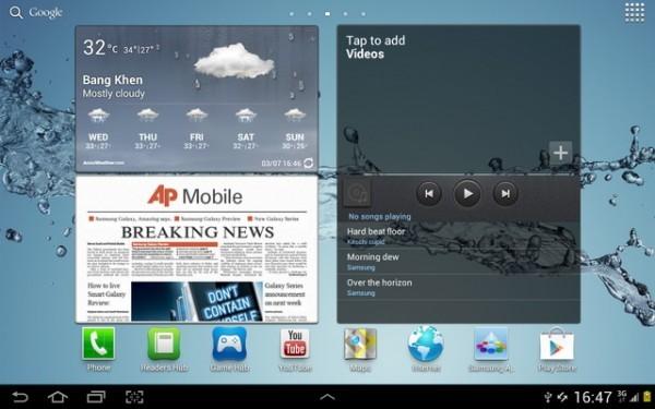 «Самсунг» обновит  Галакси Tab 7.7 до Андроид 4