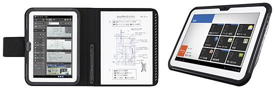 Организация Casio продемонстрировала 2 свежих планшетника Paper Writer