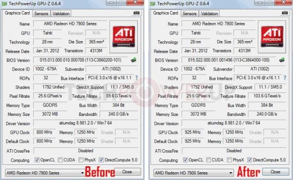 Обновление BIOS для Radeon HD 7950