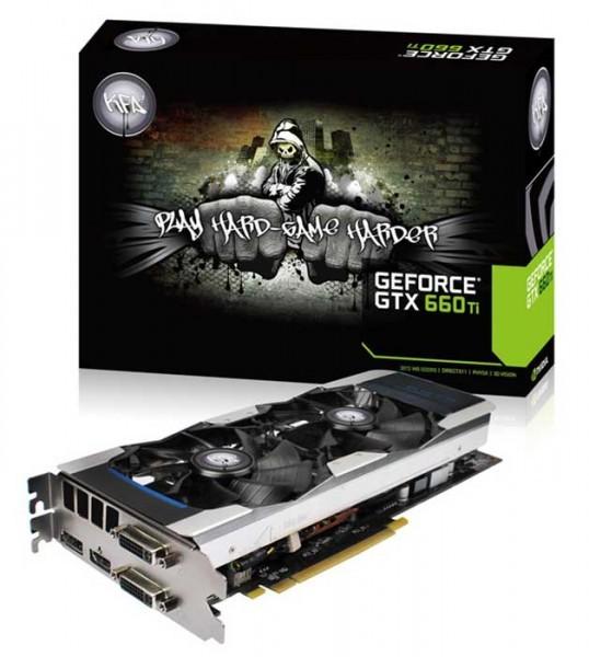 GeForce GTX 660 Ti EX OC 2GB и 3GB от KFA2