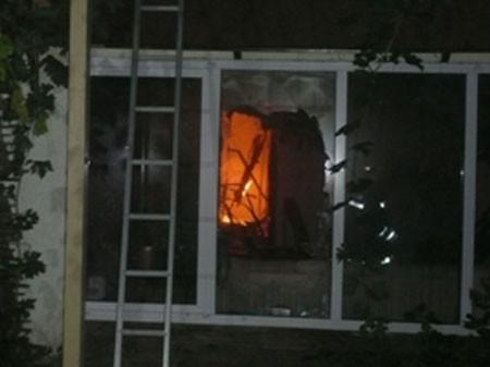 В Одессе горели пять коттеджей