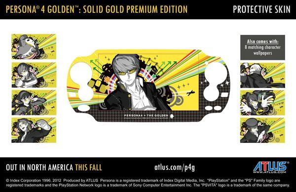 Коллекционное издание Persona 4: The Golden