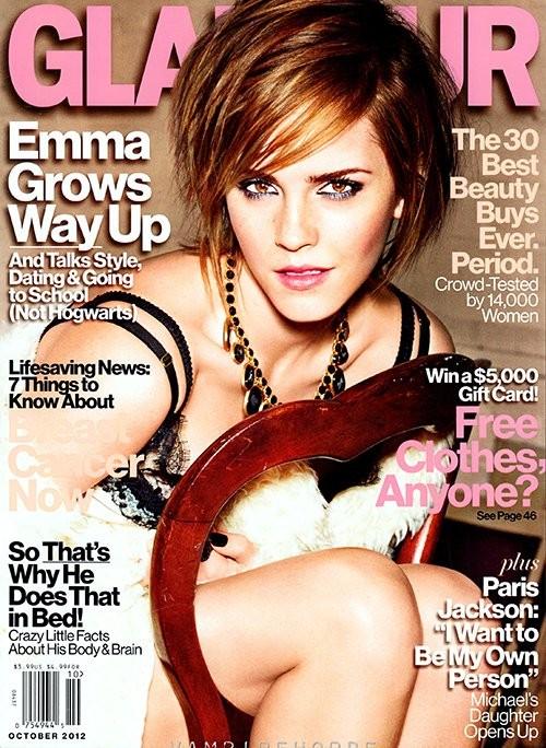 Эмма Уотсон украсила обложку Glamour