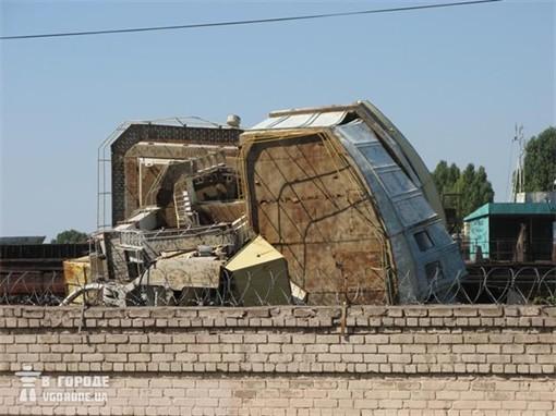 В Запорожье обрушился портовый крамбол