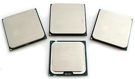 Лучшие процессоры августа 2012 года