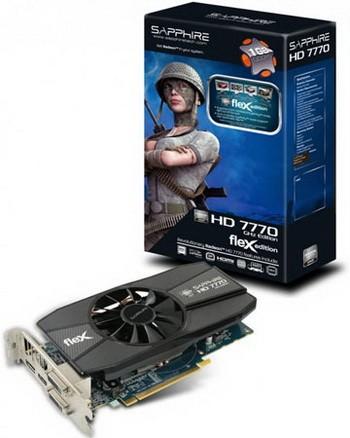 Sapphire Technology пускает FleX HD 7770 GHz Edition