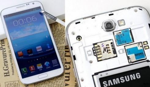 У Галакси Note II будет 2 SIM-карты