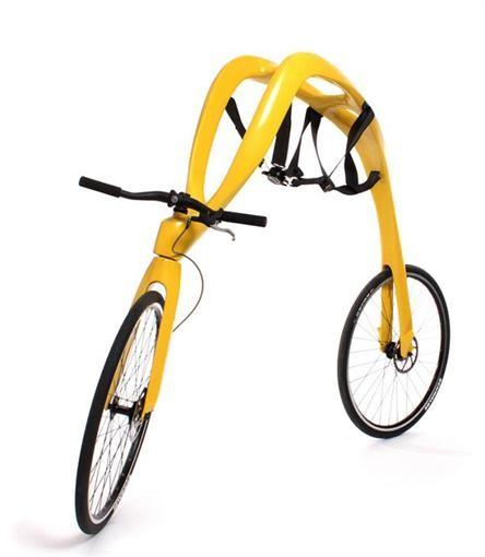Германцы придумали велик без седла и педалей