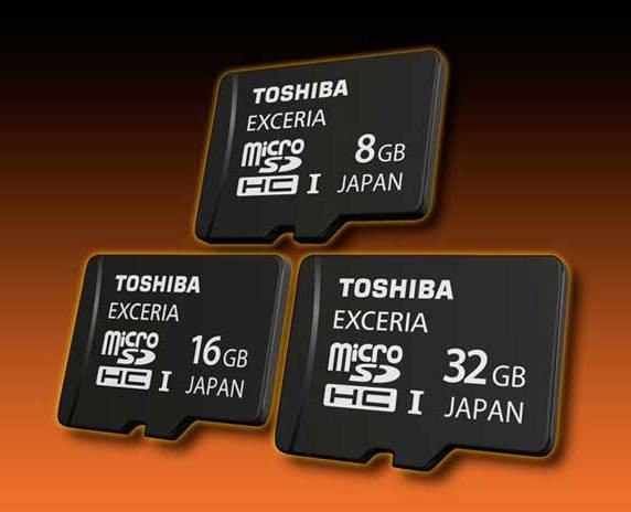 Организация Toshiba обновит серию Exceria