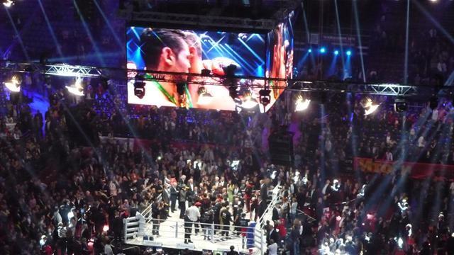 Кличко продемонстрировал Чарру реальный бокс, а не как в кино!
